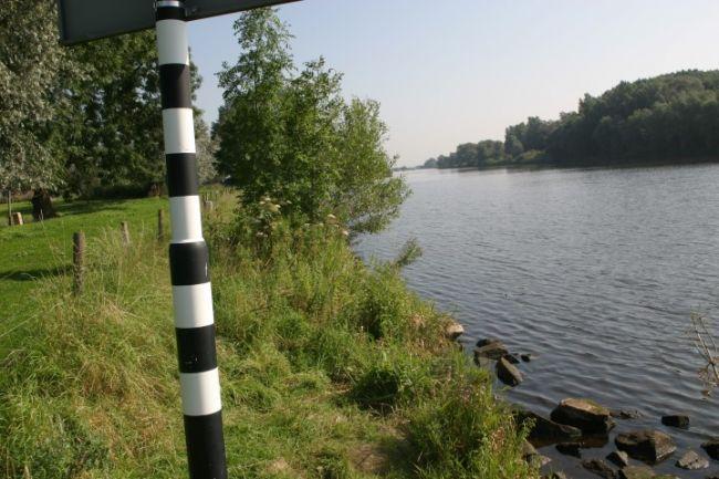Het Zwartewater, het parcours voor de vrije hengel