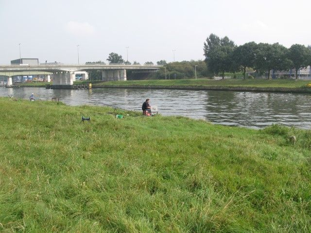 Parcours aan het Zwolle-IJsselkanaal voor de vaste stok