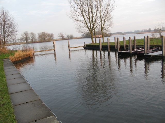 We varen de haven uit de kolk op