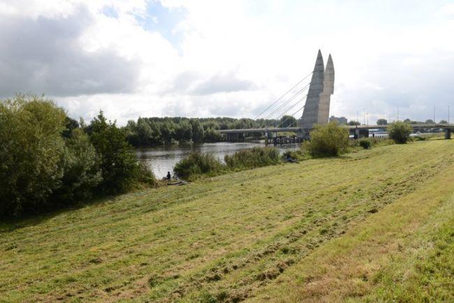 Het traject net na de Mastenbroekerbrug voor de vrije hengel