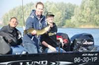 Vissen en vangen tijdens de Pike Experience