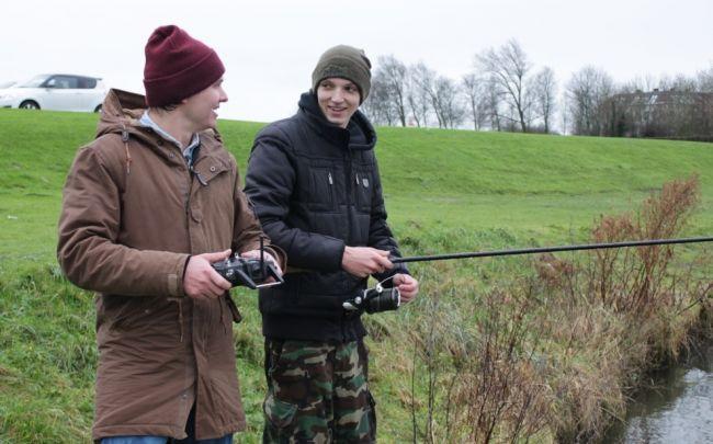 In Vis TV Next: jonge karpervisser Brian Briggeman