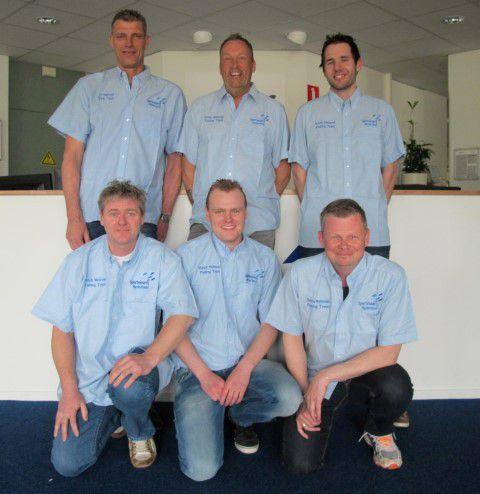 Het Nederlandse team
