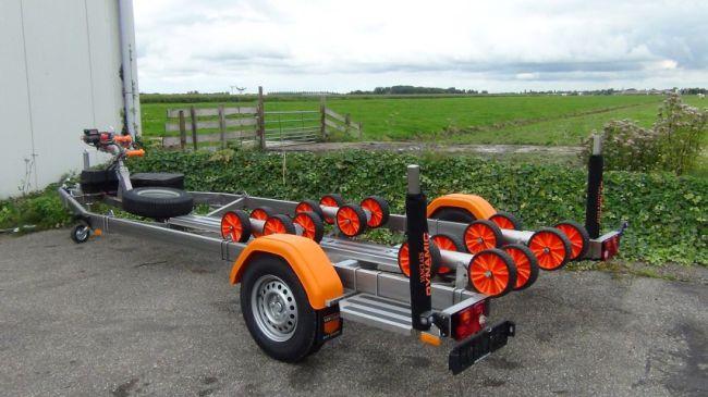 De Vanclaes Fishing Pro; De nieuwe Visgids Zwolle trailer, maar dan zonder elektrische lier