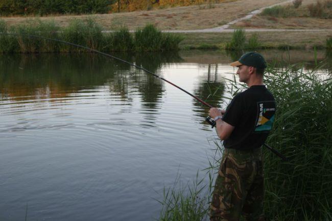 Graskarper is een prachtige sportvis