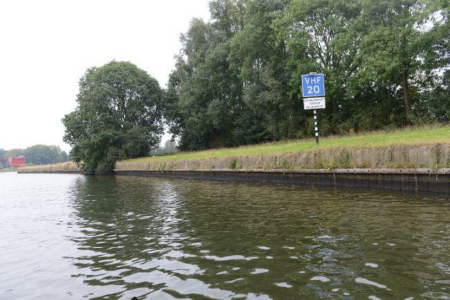 We beginnen op het Zwolle-IJsselkanaal