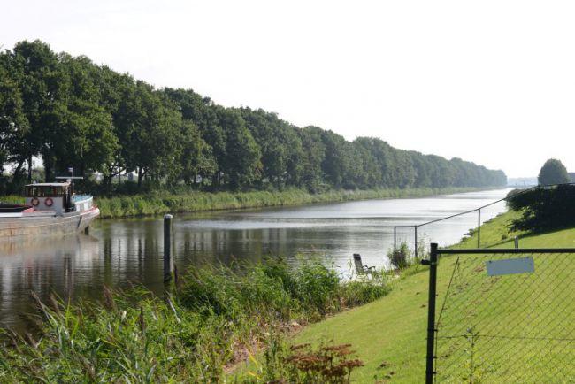 Het parcours van de Visgids wedstrijd aan de Urkervaart
