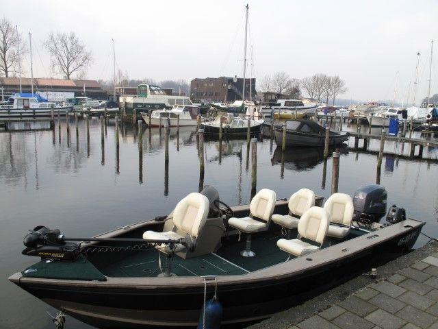 De Lund visboot van Mike Dijkstra, ook hij is één van de keurmerk mannen van het eerste uur.