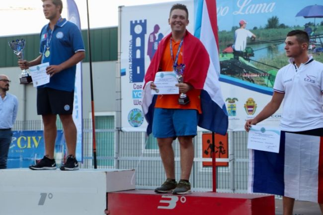 Nick Eestermans individueel brons U20