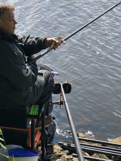Veel kleine vis moest het doen vandaag