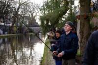 Streetfishing in Utrecht