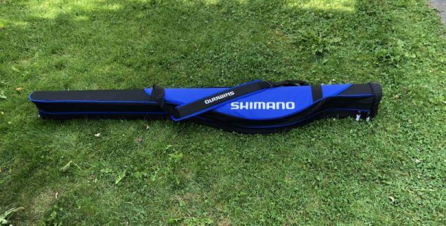 Shimano foudraal voor opgetuigde feederhengels, waarde rond €80,--